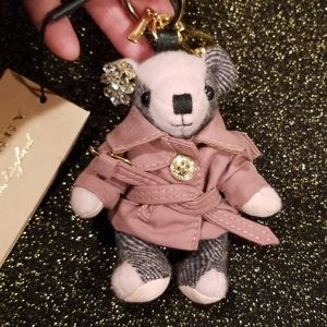 Burberry Thomas Bear with Pink Trenchcoat